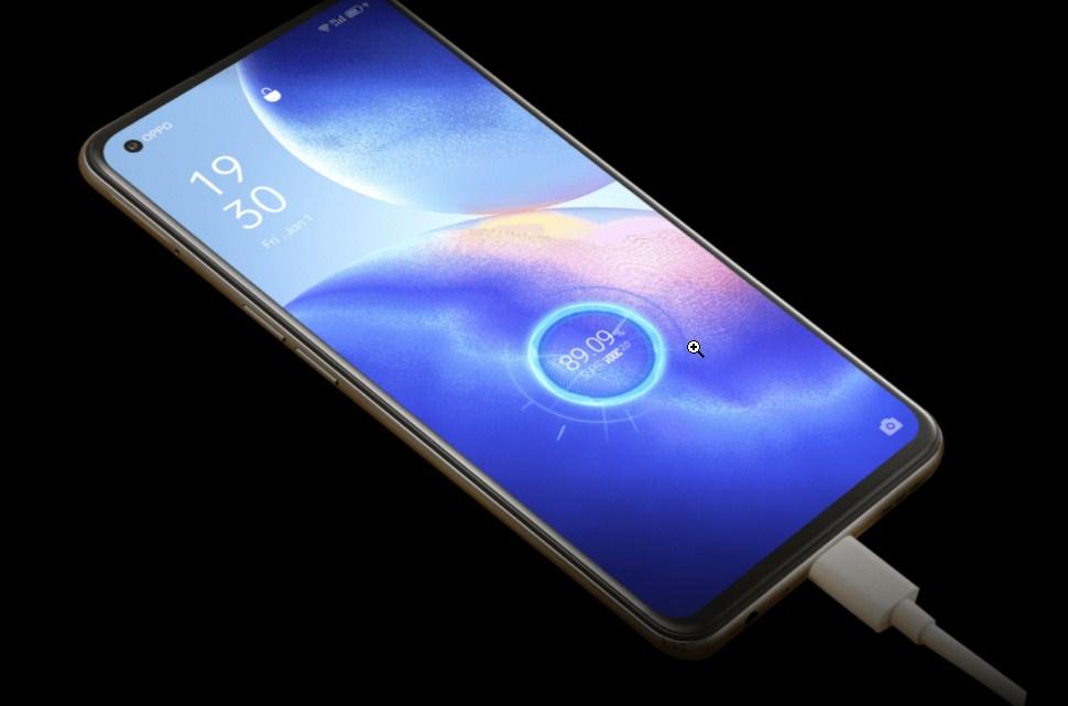 OPPO Find X3 Lite 5G fast charging
