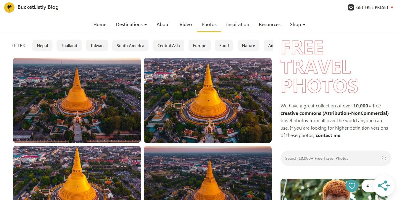 free travel images download website