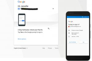 google two factor authentication by default