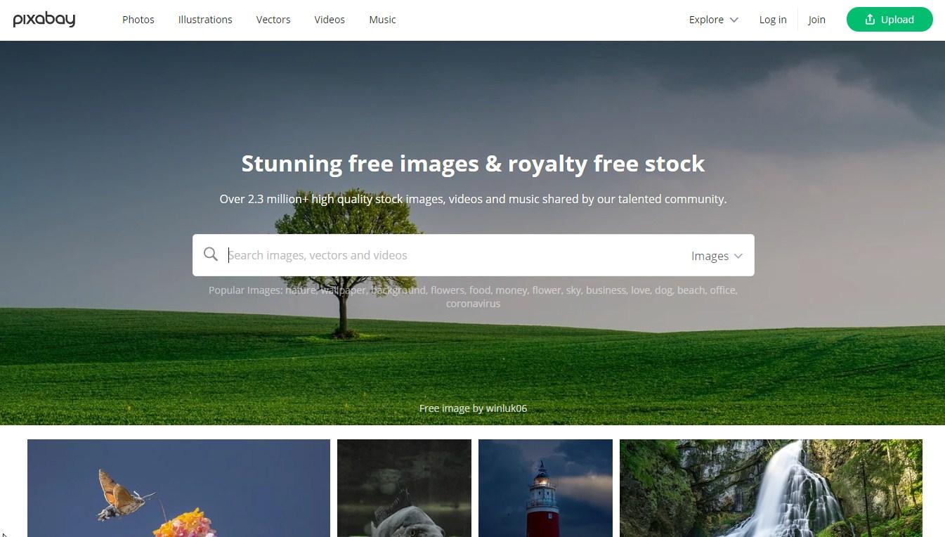 pixabay free images website